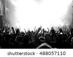 Rock Concert. Light Show Publi...