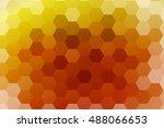 multicolor color polygonal... | Shutterstock .eps vector #488066653