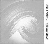 abstract vector background  dot ... | Shutterstock .eps vector #488071450