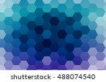 Abstract Hexagons Vector...