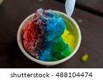 Rainbow Hawaiian Shaved Ice