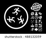 running men pictograph with... | Shutterstock .eps vector #488132059