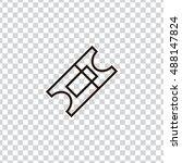Ticket Icon Vector  Clip Art....