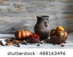 Still Life In A Rustic Style  ...