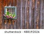 a typical austrian farmhouse... | Shutterstock . vector #488192026