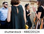 milan  italy   september 24 ... | Shutterstock . vector #488220124