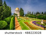 Bahai Gardens And Temple On Th...