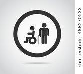 elder icon  | Shutterstock .eps vector #488270533