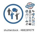 forum persons pictograph with... | Shutterstock .eps vector #488289079