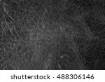 black leather texture background | Shutterstock . vector #488306146