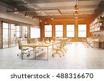 call center with lots of... | Shutterstock . vector #488316670
