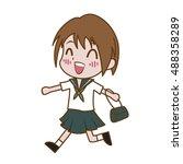 Cute Japanese School Girls  ...