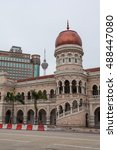 kuala lumpur  malaysia   19 may ...   Shutterstock . vector #488447080