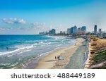 tel aviv  israel   september 22 ... | Shutterstock . vector #488449189