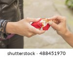 offering of cigarettes | Shutterstock . vector #488451970