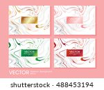 creative modern business cards  ... | Shutterstock .eps vector #488453194