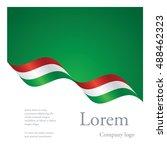 new brochure abstract design... | Shutterstock .eps vector #488462323