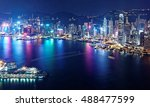 Aerial View Of Hong Kong  ...