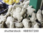 natural ginger  detail of a... | Shutterstock . vector #488507200