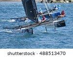 genoa  italy   september 25 ... | Shutterstock . vector #488513470
