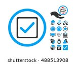 checkbox icon with bonus design ...