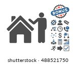 realty buyer pictograph with... | Shutterstock . vector #488521750