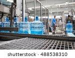 robotic factory line for... | Shutterstock . vector #488538310