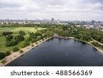 london big hyde park in the... | Shutterstock . vector #488566369