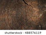 Texture Of Dark Wood. Natural...