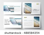 set of business templates for...   Shutterstock .eps vector #488584354