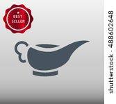 gravy boat vector icon... | Shutterstock .eps vector #488602648