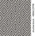 vector seamless pattern. modern ...   Shutterstock .eps vector #488612998