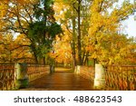 clear autumn day in the...   Shutterstock . vector #488623543