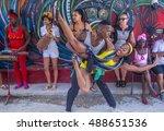 Havana  Cuba   July 18   Rumba...
