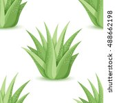 Agave   Seamless Pattern With...