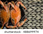 Maryland Blue Crabs. Steamed...