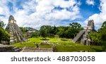 Mayan Temples Of Gran Plaza Or...