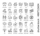 modern vector line icon of...   Shutterstock .eps vector #488712604