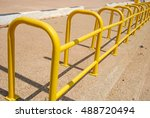 bicycle parking spaces  | Shutterstock . vector #488720494