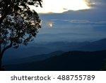 sunset | Shutterstock . vector #488755789