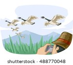 animal illustration featuring a ...   Shutterstock .eps vector #488770048