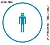 barcode icon vector | Shutterstock .eps vector #488773834