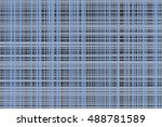 square patterns or lines... | Shutterstock . vector #488781589
