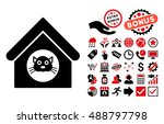Cat House Pictograph With Bonu...