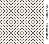 vector seamless pattern. modern ... | Shutterstock .eps vector #488805730
