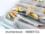Fishing Lures In Box