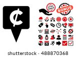 cent map pointer pictograph...   Shutterstock .eps vector #488870368