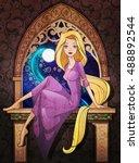 Rapunzel Fairy Tale Character...