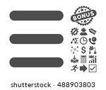 menu items icon with bonus... | Shutterstock .eps vector #488903803