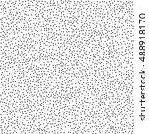 black and white grainy dotwork... | Shutterstock .eps vector #488918170